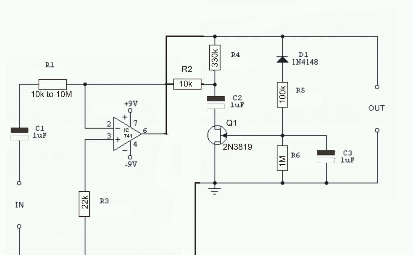 constant volume fet amplifier circuit