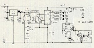 Gas Sensor Circuit