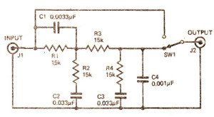 Headphone Loudness Controller Circuit