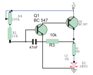 Simple Infrared Transmitter Circuit