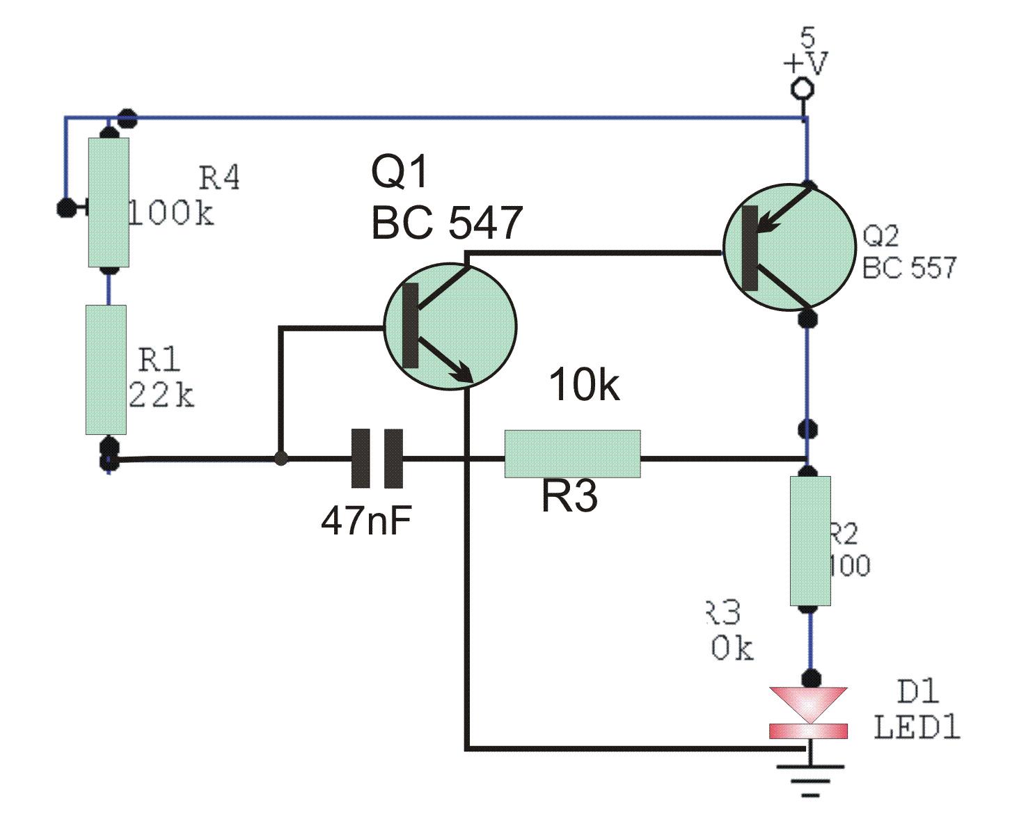 Simple Ir Transmitter Circuit