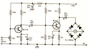 Recording Level Meter Circuit