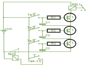 Simple Code Lock Circuit