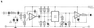 Accurate Analogue Frequency Meter Circuit