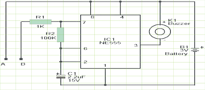Water Level Controller Circuit using IC 555