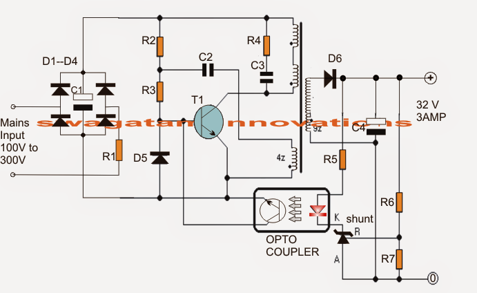 100 watt led driver circuit