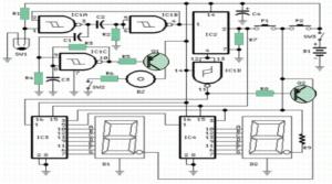 walking distance meter circuit