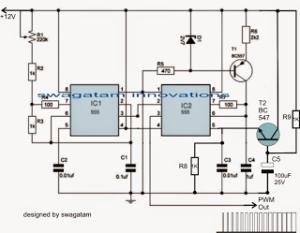 Motor Soft Start Circuit Using Pulse Width Modulation