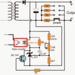 Adjustable Current Switch Mode Power Supply (SMPS) Circuit