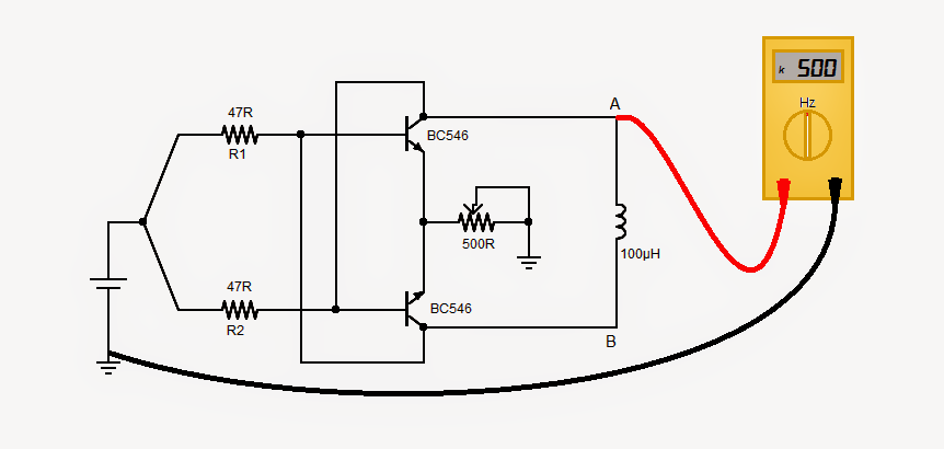 2 Meter Emergency Frequency : How to build a v inductance meter circuit