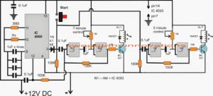 How to Build a Aquarium Fish Feeder Timer Controller Circuit