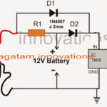 Mains Failure Battery Backup Circuit for Arduino