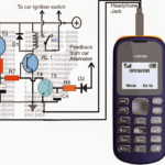 How to Build a Cellphone Controlled Car Starter Circuit