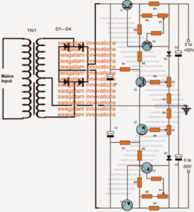 How to Build a 0 to 50V, 0 to10amp Variable Dual Power Supply Circuit