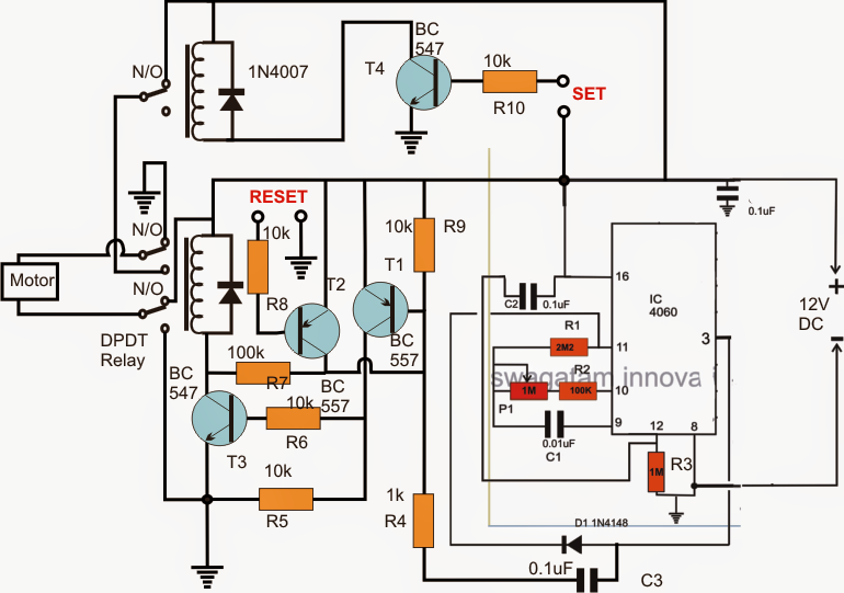 How to Build a Reverse Forward Motor Timer Circuit for ...