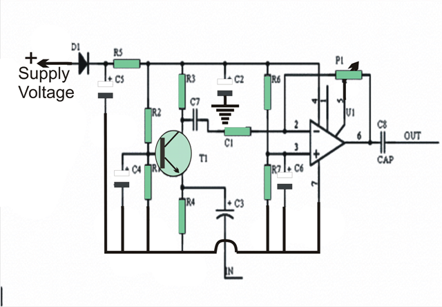how to build low impedance microphone amplifier
