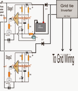 How to Make a Optimizing Grid and Solar Electricity in Parallel with an Inverter