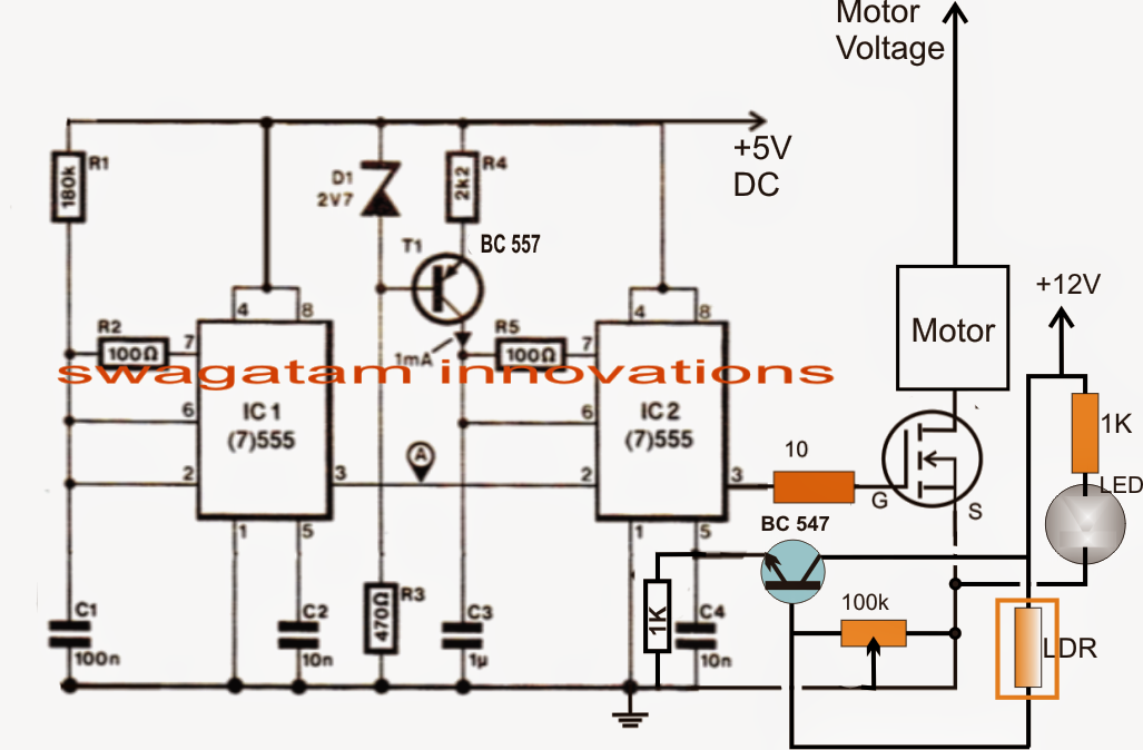 How to build a pedal speed controller circuit for electric for Universal motor speed control circuit