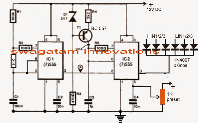 Build a 3 Phase VFD Circuit