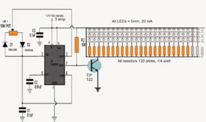 How to Build a 150 LED PWM Tubelight Circuit
