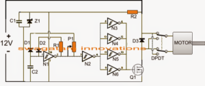 How to Build a Automatic PWM Door Open/Close Controller Circuit