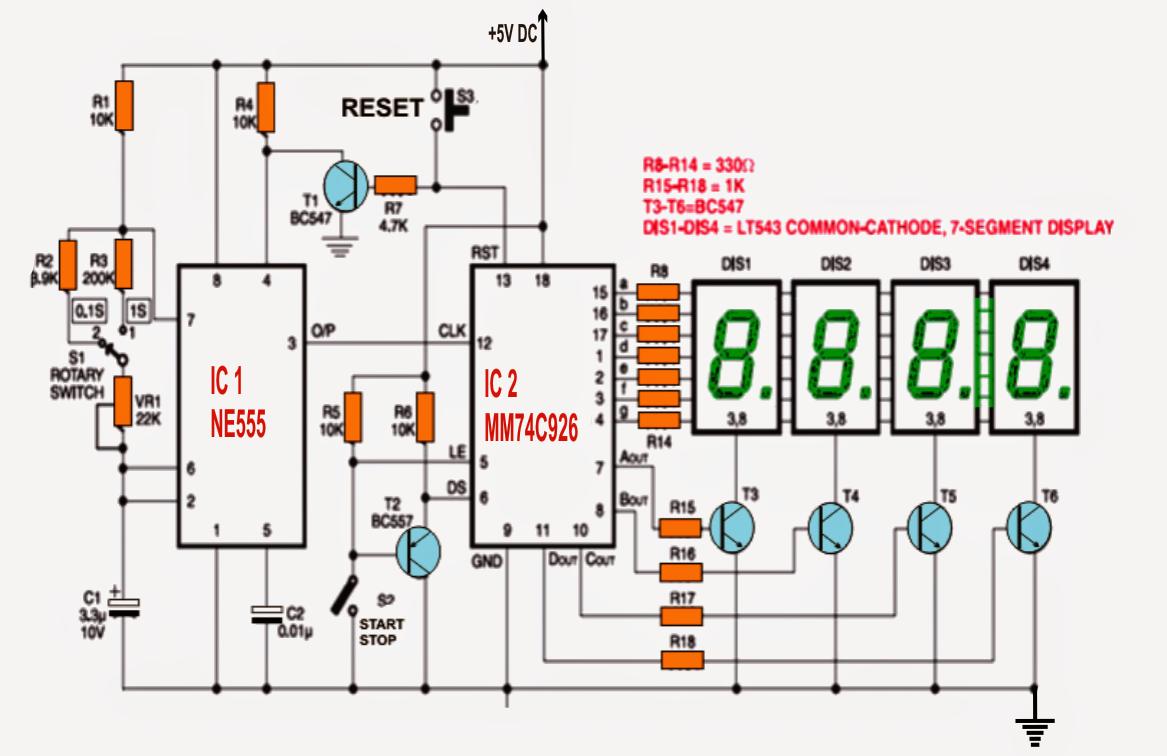 Watch Circuit Diagram Wiring Diagrams For Dummies Wireless Microphone Measuringandtestcircuit How To Make A Digital Stop Rh Makingcircuits Com Quartz Apple