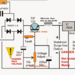 How to Make a Voltage Stabilized Transformerless Power Supply Circuit