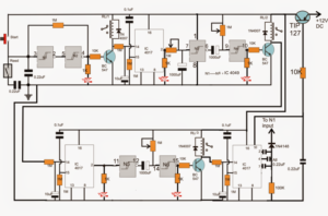 How to Make a Industrial Tank water fill/drain controller circuit