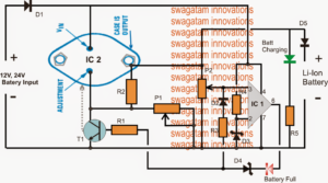 High Current Li-ion Charger Circuit