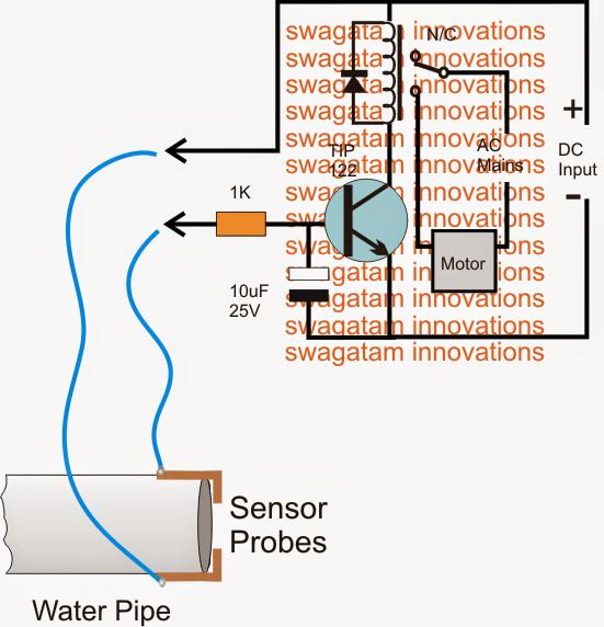How To Make A Municipal Water Supply Sensor Pump Controller Circuit
