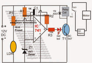 How to Make a Light Activated Water Level Controller Circuit