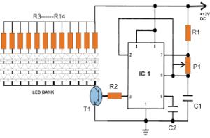 Automatic 40 Watt LED Solar Street Light Circuit Project – Part-2