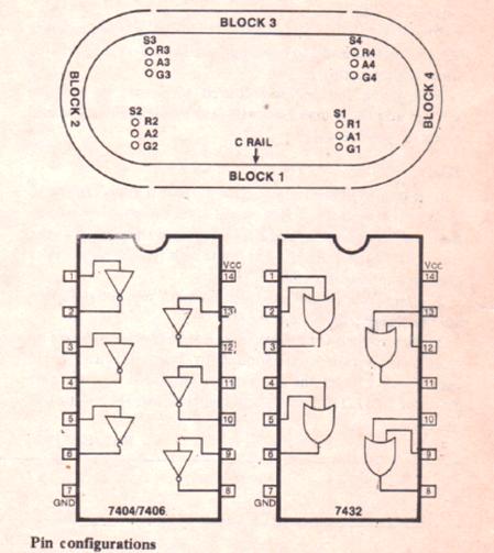 model train IC pinouts