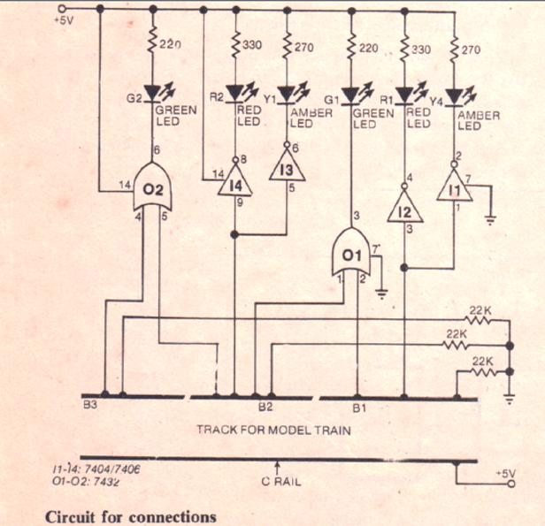 model train controller circuit