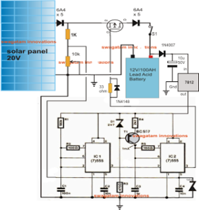 How to Make a Simple Solar MPPT Circuit Using IC555 – PWM Maximum Power Point Tracker