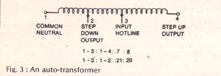 simple mains voltage stabilizer circuit simple auto transformer circuit