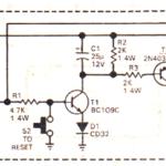 Simple Latch Circuit using Transistors