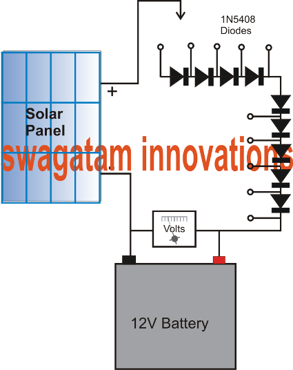 Cheap MPPT Solar Battery Charger Circuit