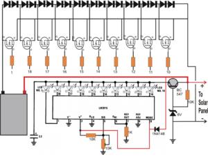 incremental type solar charger MPPT circuit