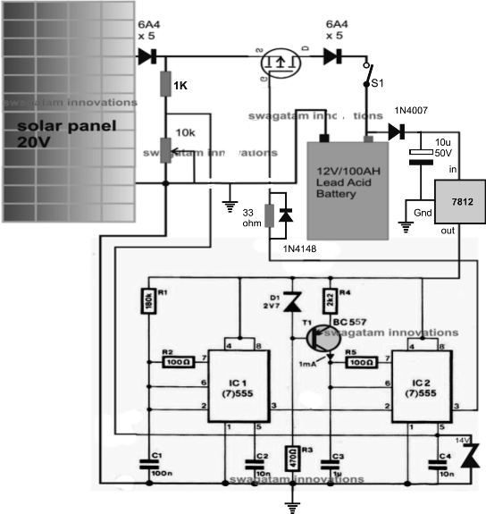 solar three phase inverter with battery charger solar 3 phase inverter  circuit: how to make a simple solar mppt circuit using ic555