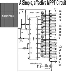 mppt circuit using IC lm3915