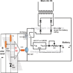 How to Build a Solar Panel/AC Mains, Relay Changeover Circuit