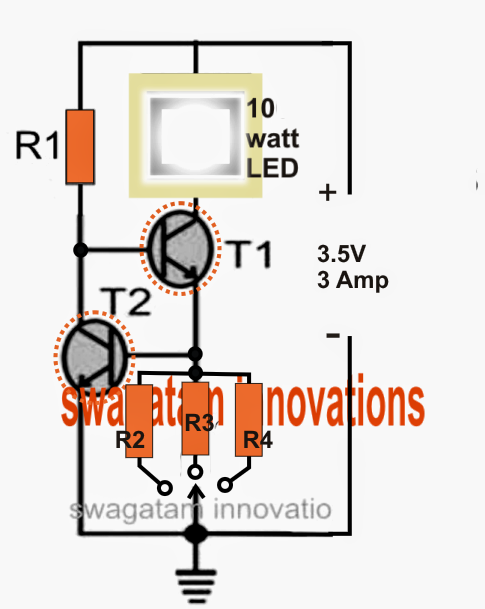 Driver Circuit for CREE XM-L T6 LED on