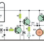 Simple Door Security Alarm Circuit