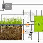 Automatic Plant Irrigation Circuit