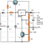 Car Voltage Stabilizer Circuit
