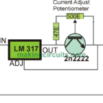 Simple Adjustable Constant Current Circuit