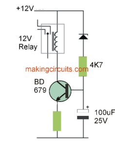 simple low voltage cut out circuit