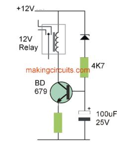 Simple Low Voltage Cut OFF Circuit