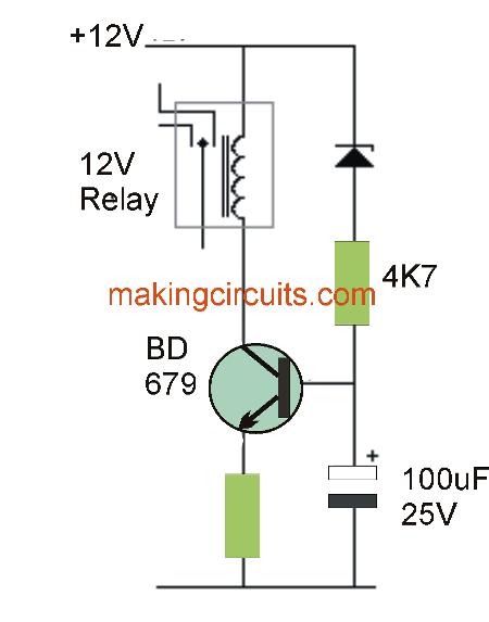 simple low voltage cut out circuit